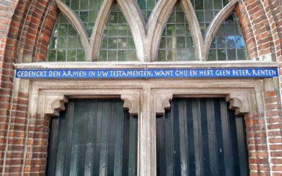 Fout rechtgezet: oude tekst weer terug op Martinikerk